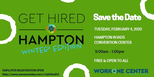 Get Hired Hampton 'Winter Edition'