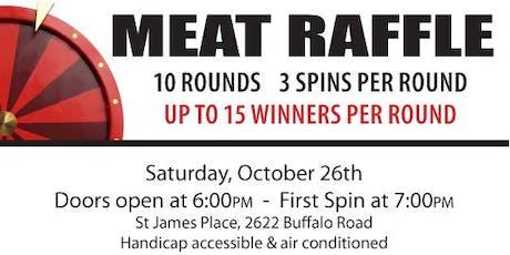 Meat Raffle tickets