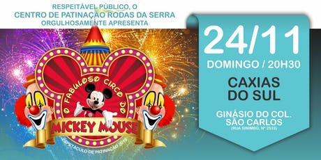 O FABULOSO CIRCO DO MICKEY MOUSE ingressos