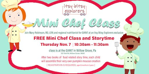 Mini Chef Creation Class