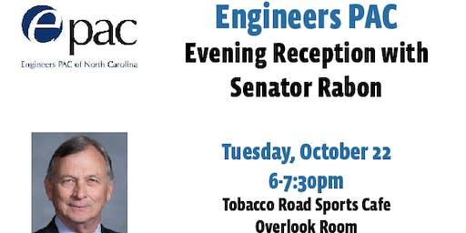 EPAC Reception with Senator Rabon