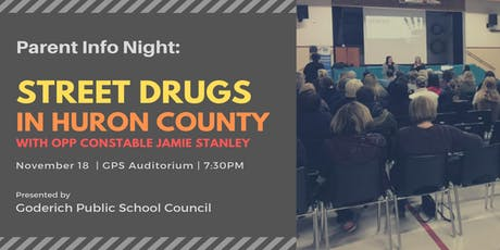 Parent Info Night:  Street Drugs in Huron County tickets