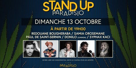 Stand-Up Paradisio : Special Event  billets