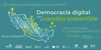 """Democracia digital para el cambio sostenible"""