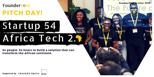 Startup 54: Africa Tech 2.0 Pitch Day