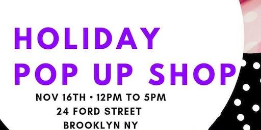 Holiday Pop-Up Shop & Business Workshop feat. Guest Speaker Akanundrum