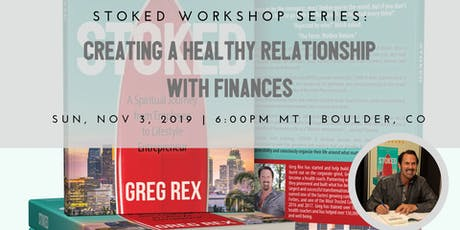 Creating a Healthy Relationship with Finances & live book signing  tickets