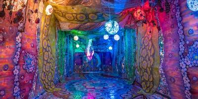 "Georgi Kay Musical Performance Inside ""Alchemy Tunnel"" Installation"