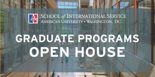 Graduate Programs Open House: School of International Service (SIS)