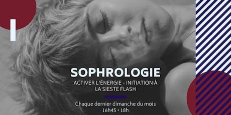 Atelier Sophro / Activer l'énergie - Initiation à la sieste flash billets