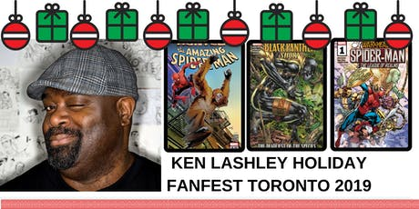 Ken Lashley FanExpo Canada Toronto Holiday Fanfest 2019 tickets