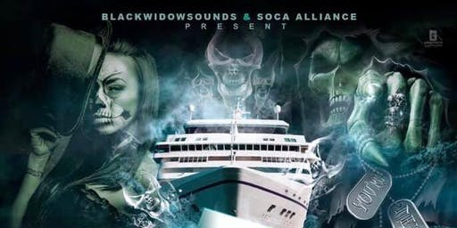 Blackwidowsounds X Soca Alliance Haunted Halloween Boat Ride 2019 pt7