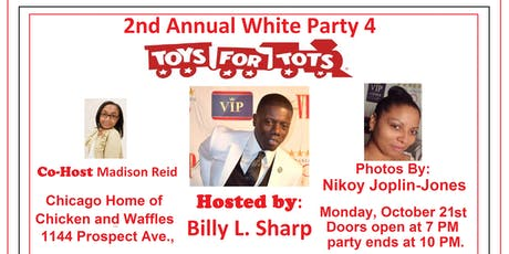 2nd Annual White Party 4 Toys for Tots tickets