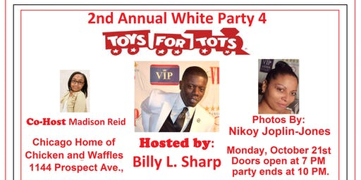 2nd Annual White Party 4 Toys for Tots
