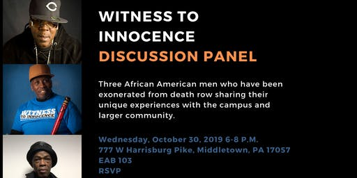 Witness To Innocence Discussion Panel