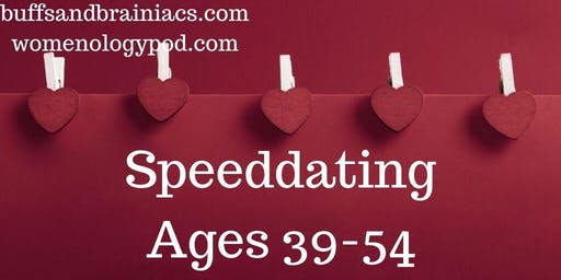 Speed Dating Party Ages 39-54 - Boston Singles SOLD OUT FOR WOMEN