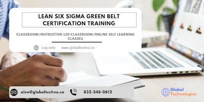 Lean Six Sigma Green Belt (LSSGB) Certification Training in  Longueuil, PE