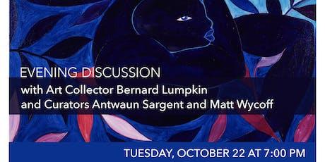 Gallery Talk in OSilas with Bernard Lumpkin, Antwaun Sargent & Matt Wycoff tickets