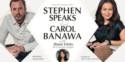 Stephen Speaks, Carol Banawa, Shane Ericks in Los Angeles
