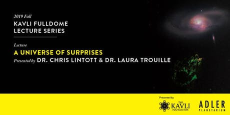 A Universe of Surprises tickets