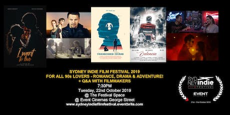 Sydney Indie Film Festival 2019 – For all the 90s Lovers tickets