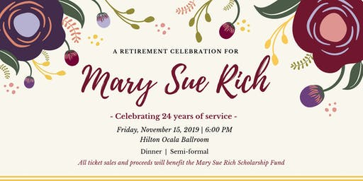 Retirement Celebration for Mary Sue Rich