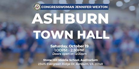 Congresswoman Wexton Hosts Ashburn Town Hall tickets