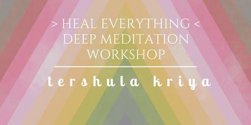 Heal Everything   Deep Meditation Workshop