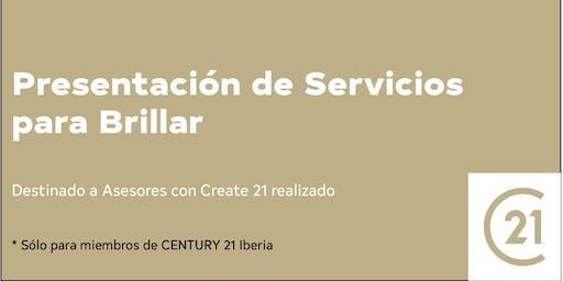 Presentación de Servicios para Brillar Madrid
