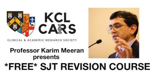 KCL CARS SJT Revision Course