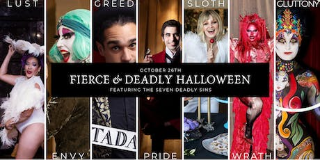 Fierce & Deadly Halloween Party and Experience! tickets