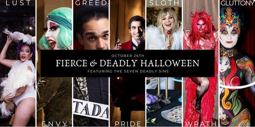 Fierce & Deadly Halloween Party and Experience!
