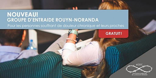AQDC : Groupe d'entraide Rouyn-Noranda