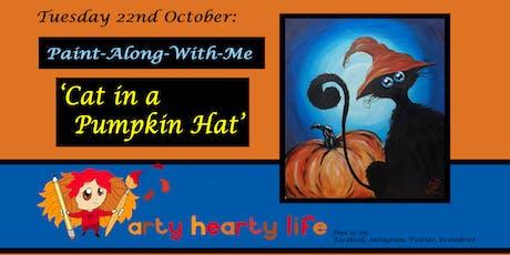 Cat in the Pumpkin Hat - Children's Halloween Painting Workshop @ YourSpace.Sutton tickets