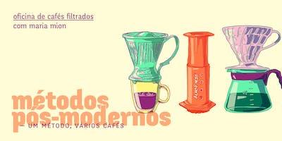 MÉTODOS PÓS-MODERNOS — Um método, vários cafés (BH)