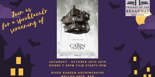 Cabin in the Woods - Pop-up Cinema Event