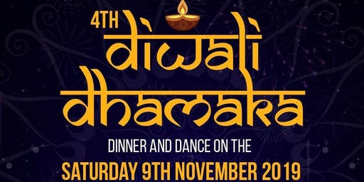 DIWALI DHAMAKA  DINNER AND DANCE 2019 -See Rameet Sandu Live!!!