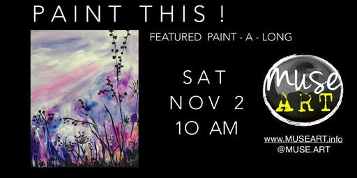 Canvas paint -a- long BYOB event