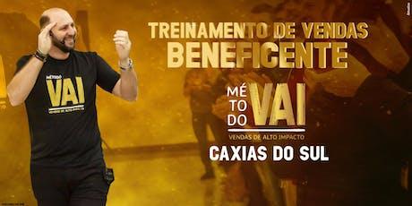 Treinamento de Vendas GRATUITO em Caxias do SUL ingressos