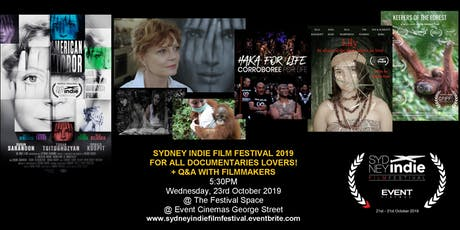Sydney Indie Film Festival 2019 – For all Documentaries Lovers tickets