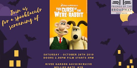 Wallace and Gromit Curse of the Were Rabbit - Pop-up Cinema Event tickets