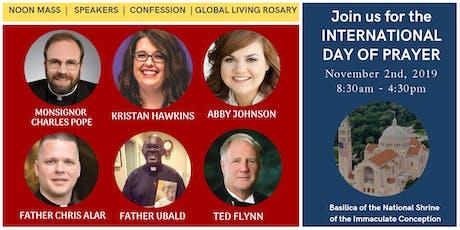 International Day of Prayer tickets