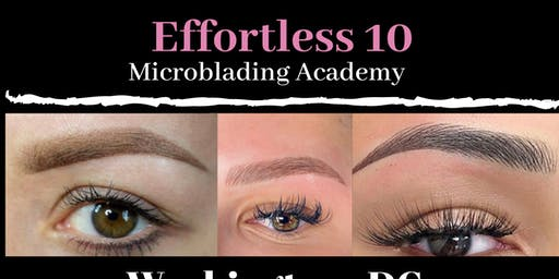 Effortless 10 Microblading Group Training - Washington DC. December 13th & 14th
