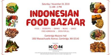 Indonesian Food Bazaar tickets