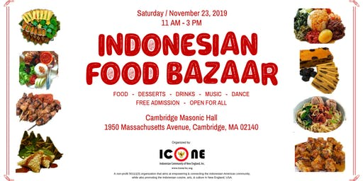 Indonesian Food Bazaar