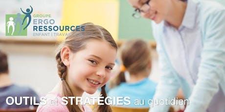 Les Ergotrucs à l'école: outils et stratégies au quotidien tickets
