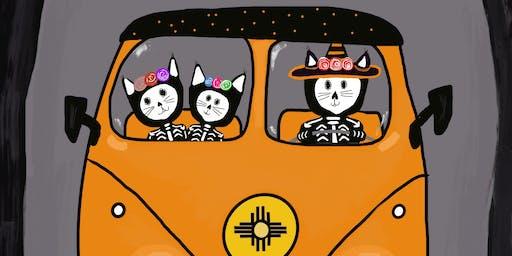 Happy Halloween NM Style Paint night