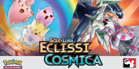 Prerelease Pokémon Sole e Luna Eclissi Cosmica Cosenza tickets