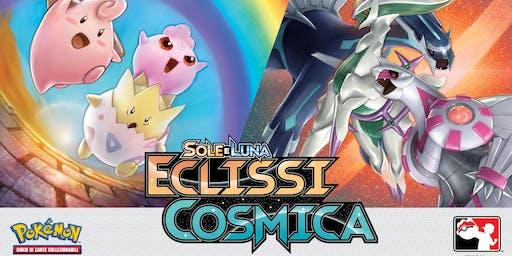 Prerelease Pokémon Sole e Luna Eclissi Cosmica Cosenza