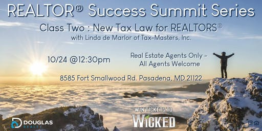 Realtor Success Summit Series - New Tax Law for REALTORS®